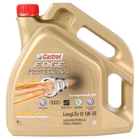 Castrol Edge Professional III VW 504 00 / 507 00, 5W-30 4L