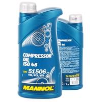 MANNOL Kompressor Oil ISO 46, 1 Liter