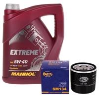 Inspektionspaket Mannol 5W40 + SCT Ölfilter