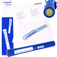 Berner LED Pen Light 7+1 Micro USB