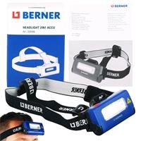 Berner Led-Stirnlampe 2-in-1 USB 3,7V