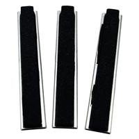 3 Ersatzbacken für Art. 1157, 100 mm Backen, Körnung # 180