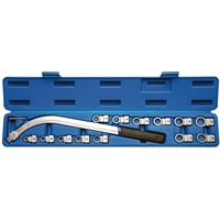 Spannrollenschlüssel Satz 15-tlg. Torx Vielzahn E-Profil Zoll Größen 12-kant Set