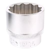 Außen Vielzahn Steckschlüssel Satz SW 8-36 mm, 21-teilig, 1/2 Zoll Antrieb + Umschaltknarre
