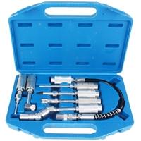 Adapter und Zubehörsatz für Fettpressen, 7 Teilig