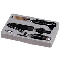 Druckluft-Multiwerkzeug mit 3 auswechselbaren Arbeitsköpfen