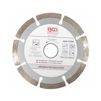 Segment- Diamant-Trennscheibe für Trockenschnitt, 115 mm