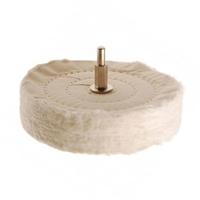 Polierscheibe mit 6 mm Spanndorn