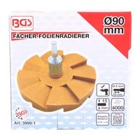 BGS Fächer-Folienradierer | Ø 90 mm