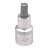 "Steckschlüssel Bit-Einsatz 8 mm Nuss 1/2"" Innen Sechskant Antrieb 53 mm lang Nuß"