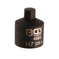 Bremssatel Steckschlüssel-Einsatz, extra kurz, 7 mm für Mercedes