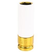 Steckschlüssel Kraft Schoneinsatz SW 19 mm, 1/2 Zoll