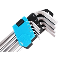 Innensechskant Schlüssel Satz 9-tlg. 1.5 - 10 mm