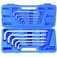 Innensechskant Schlüssel Set 10-tlg Sechskant Schrauben Werkzeug Winkelschlüssel