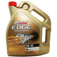 Castrol EDGE FST Turbo Diesel 5W-40 Motoröl 5 Liter 5W40 VW  FORD BMW MB