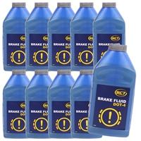 MANNOL Brake Fluid DOT-4, 10x450 ml