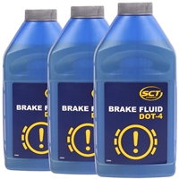 MANNOL Brake Fluid DOT-4, 3x450 ml