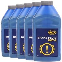 MANNOL Brake Fluid DOT-4, 5x450 ml
