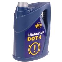 SCT Mannol Bremsflüssigkeit DOT4 Break Fluid DOT4, 5KG, 4.67L