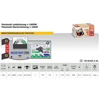 Batterieladegerät für 12V und 24V Batterien 20 Ah bis 200 Ah