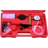 Vakuum Pumpe und Bremsenentlüfter Set