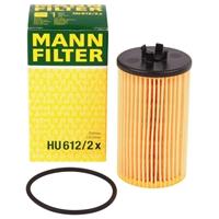 Ölfilter MANN FILTER HU612/2x Opel