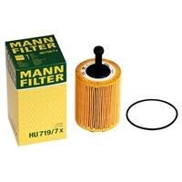 2x5 Liter Castrol 5W-30 EDGE TITANIUM FST + MANN Ölfilter