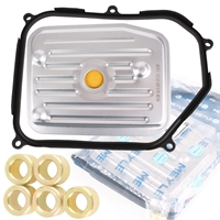 Meye Hydraulikfiltersatz, Automatikgetriebe + ATF AG52 Getriebeöl, 4 Liter