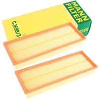 Mann Filter Luftfilter C3698/3-2 2 Stück
