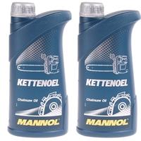 Mannol Kettenöl 2x1 Liter