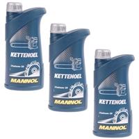 Mannol Kettenöl 3x1 Liter