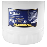 MANNOL ready-to-use AdBlue® 20 Liter + Einfüllhilfe-Set, 4tlg.