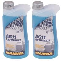 Mannol Antifreeze AG11 (- 40°C) Blau, 2x1L