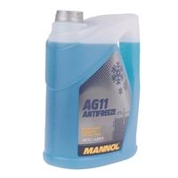 Mannol Antifreeze AG11 (- 40°C) Blau, 2x5L