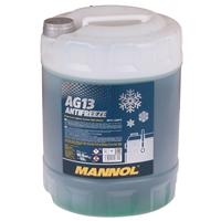 Mannol Antifreeze AG13 - 40°C, 10 Liter, Grün