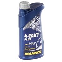 MANNOL 4-Takt Plus Motorrad Öl API SL 1 Liter
