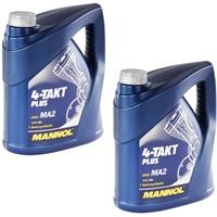 MANNOL 4-Takt Plus API SL 2x4 Liter