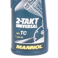 MANNOL 2-Takt Universal Motorradöl API TC 1 Liter