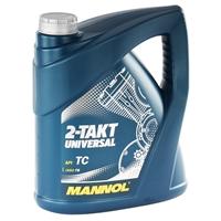 MANNOL 2-Takt Universal Motorradöl API TC 2 x 4 Liter