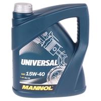 MANNOL Universal 15W-40 API SG/CD Motoröl, 4 Liter