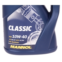 MANNOL Classic 10W-40 API SN/SM/CF, 5 Liter