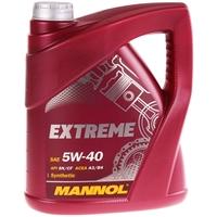 Bosch Ölfilter + MANNOL Extreme 5W-40 API SN/CF, 5 Liter
