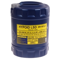Mannol Hypoid Lsd 85W-140 API GL-5 LS, 10 Liter