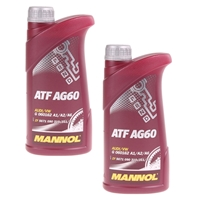 Mannol ATF AG60 Automatik Getriebeöl 2x1L