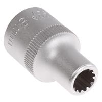 """Steckschlüssel-Einsatz """"Gear Lock"""", 12,5 (1/2), 8 mm"""