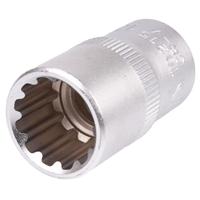 Steckschlüssel-Einsatz, Gear Lock, 12,5 (1/2), 15 mm