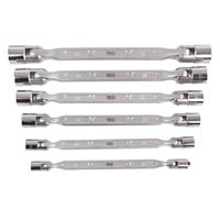 Doppel-Ringschlüsselsatz mit flexiblen Köpfen, 8-tlg.