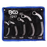 Starter- und Blockschlüssel Satz, 8x10-21x22 mm, 5-tlg.