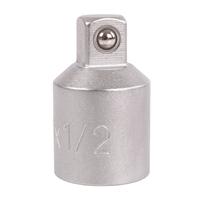 Adapter, matt verchromt, 10 (3/8) außen - 12,5 (1/2) innen