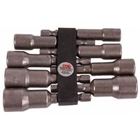 Steckschlüsseleinsatz-Set mit 6-kant Bohrmaschinenschaft, 6 - 13 mm